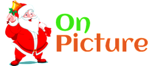 Santa On Picture Logo